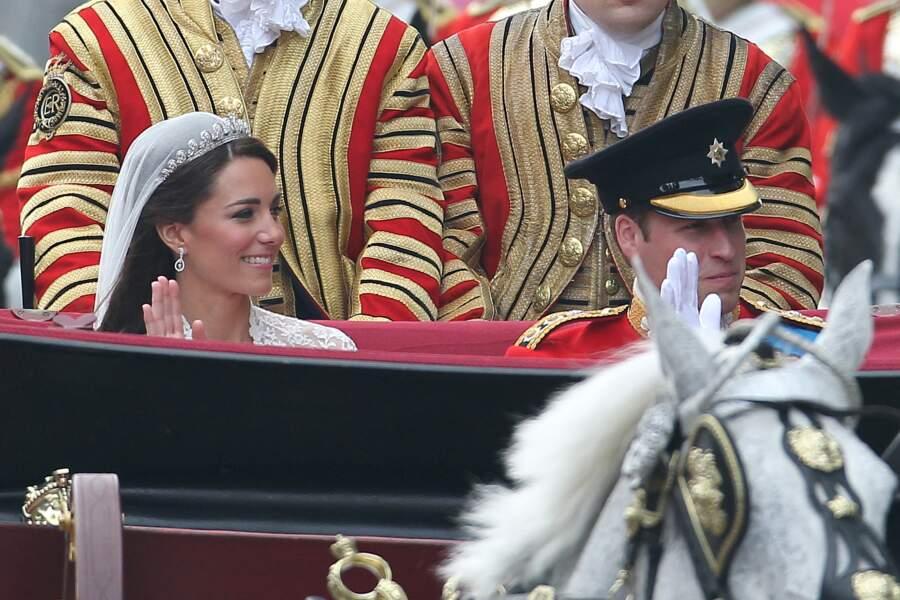 Mariage de Kate Middleton et du prince William à Londres, le 29 avril 2011