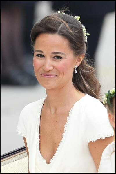 Pippa Middleton au mariage de Kate Middleton et du prince William, le 29 avril 2011