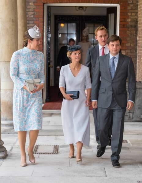 Harry Aubrey-Fletcher, le 9 juillet 2018, au baptême du prince Louis
