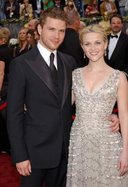 Ryan Phillippe et Reese Witherspoon  lors de la 78e cérémonie des Oscars.