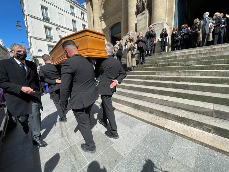 Les obsèques de Myriam Colombi ont eu lieu à l'église Saint-Roch à Paris, ce lundi 26 avril 2021