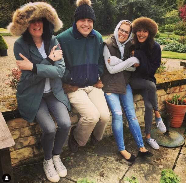 Henry Ropner et sa famille en mai 2016