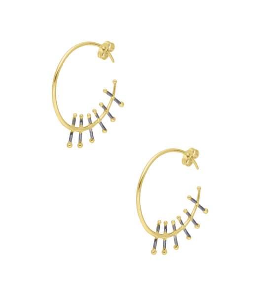 Boucles d'oreilles Emmy, 850€, 5 Octobre sur Jane De Boy