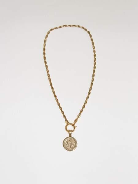 Collier Silea doré, 165€, Bonanza