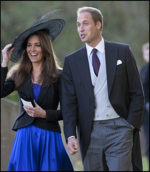 Kate Middleton et le prince William à Northleach le 23 octobre 2010