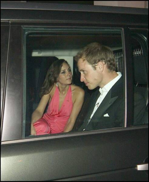 Le prince William et Kate Middleton le 8 juin 2008 à Londres