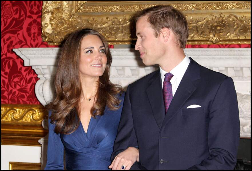 Kate Middleton et le prince William le 16 novembre 2011