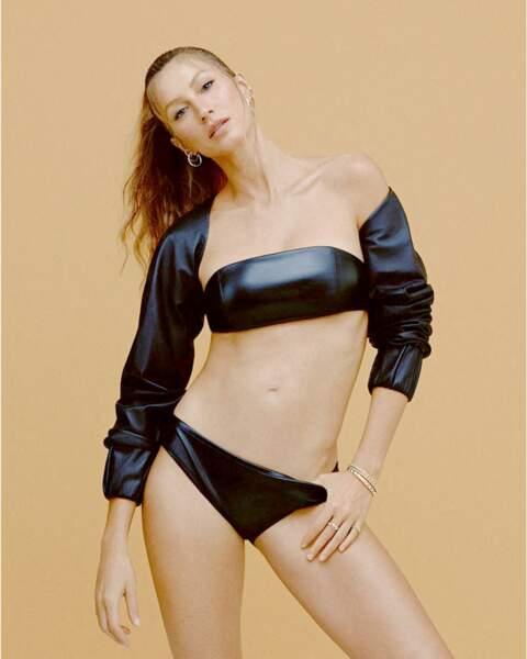 Gisele Bundchen n'a pas besoin de photoshop pour aficher son corps d'ex-mannequin.