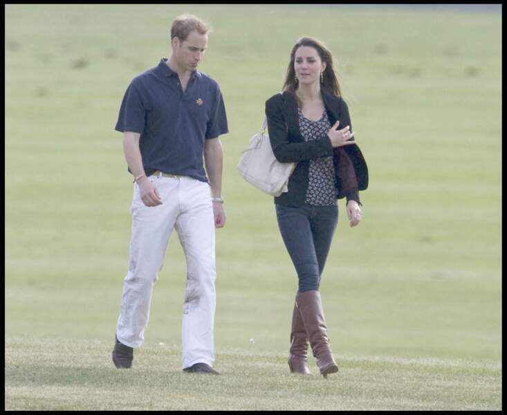 Kate Middleton et William de sortie en 2008 à Londres