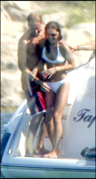 Kate Middledon et le prince William en vacance le 1er septembre 2006