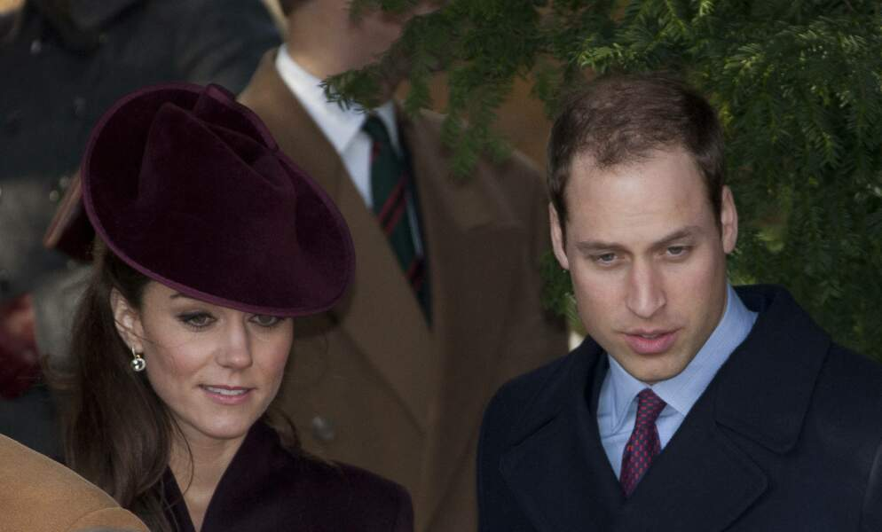 Kate Middleton et William à Sandringham en 2011