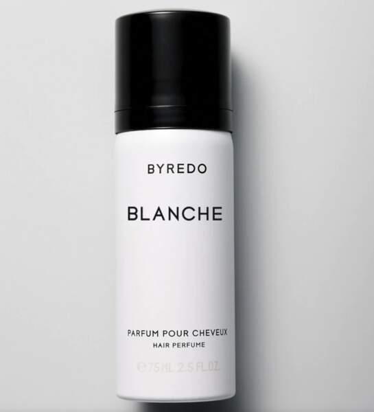 Parfum pour cheveux Blanche, Byredo, 50 €, byredo.eu