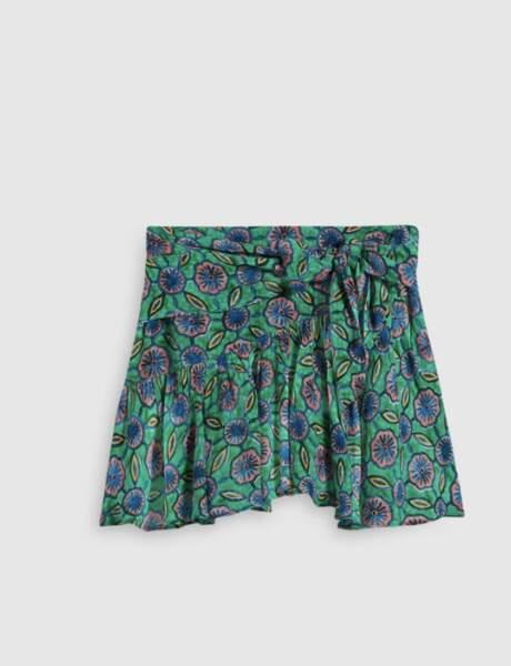 Mini jupe 225 € Claudie Pierlot.