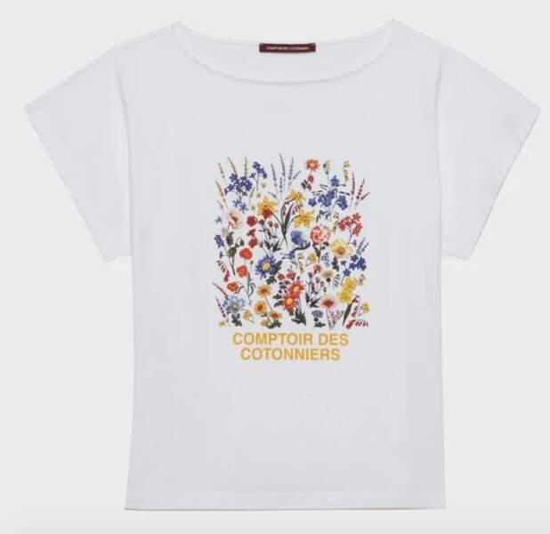 Tee-Shirt 55 € Comptoirs de Cotonniers