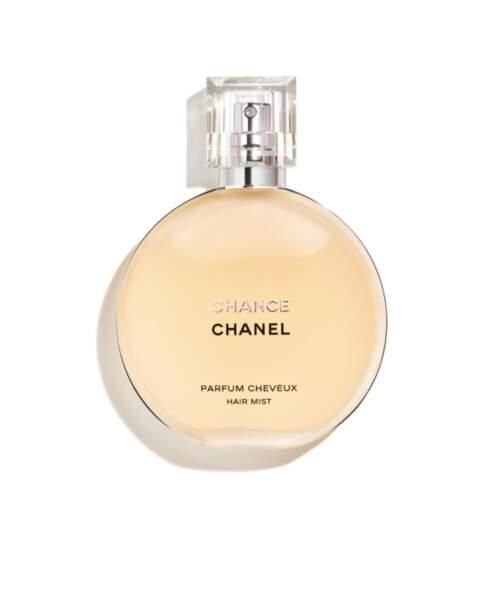 Parfum Cheveux, Chance, Chanel, 55€, chanel.com