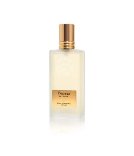 Brume pour cheveux Patchouli Intense, Parfums Nicolai, 50ml - 68€, pnicolai.com