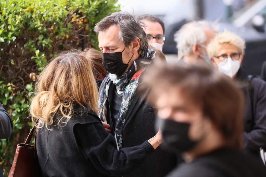 Samantha Rénier et Jean-Luc Reichmann en l'église Saint-Pierre de Neuilly-sur-Seine,  le 30 avril 2021