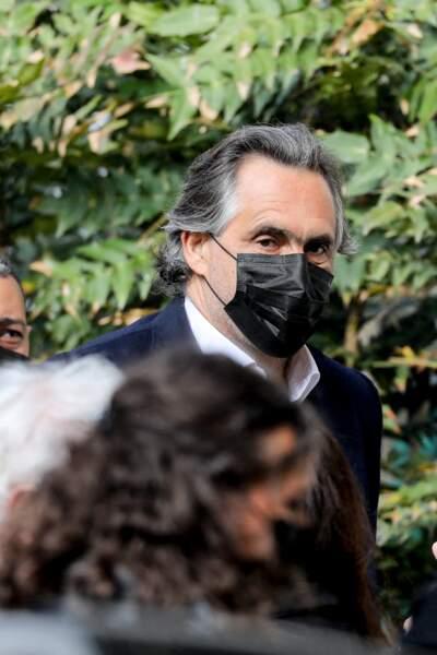 Emmanuel Chain a été aperçu aux obsèques de Yves Rénier.