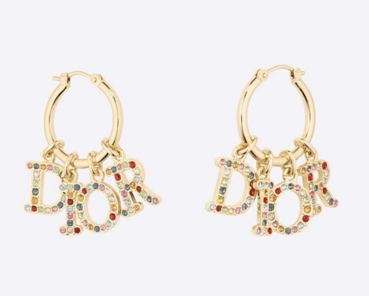 Boucles d'oreilles Dior (R)évolution, 550 €