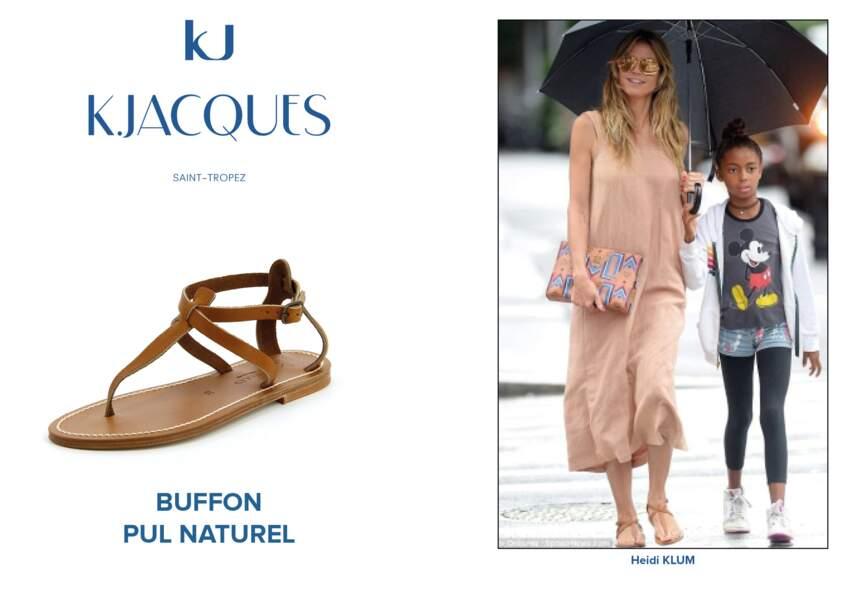 Heidi Klum porte le modèle Buffon de K.Jacques.