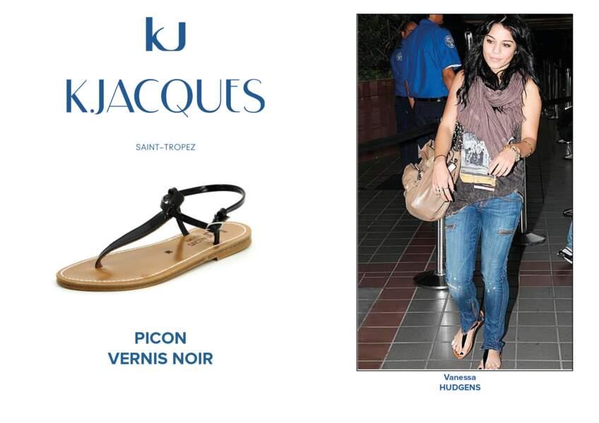 Vanessa Hudgens porte le modèle Picon de K.Jacques.