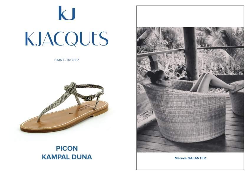 Mareva Galanter porte le modèle Picon de K.Jacques.