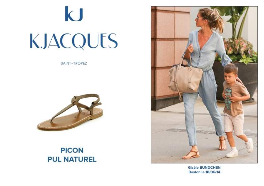 Gisèle Bundchen porte le modèle Picon de K.Jacques.