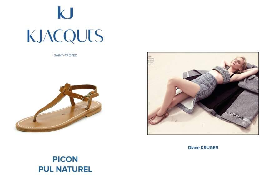 Diane Kruger porte le modèle Picon de K.Jacques.