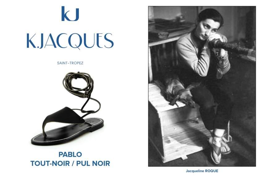 Jacqueline Roque porte le modèle Pablo de K.Jacques.