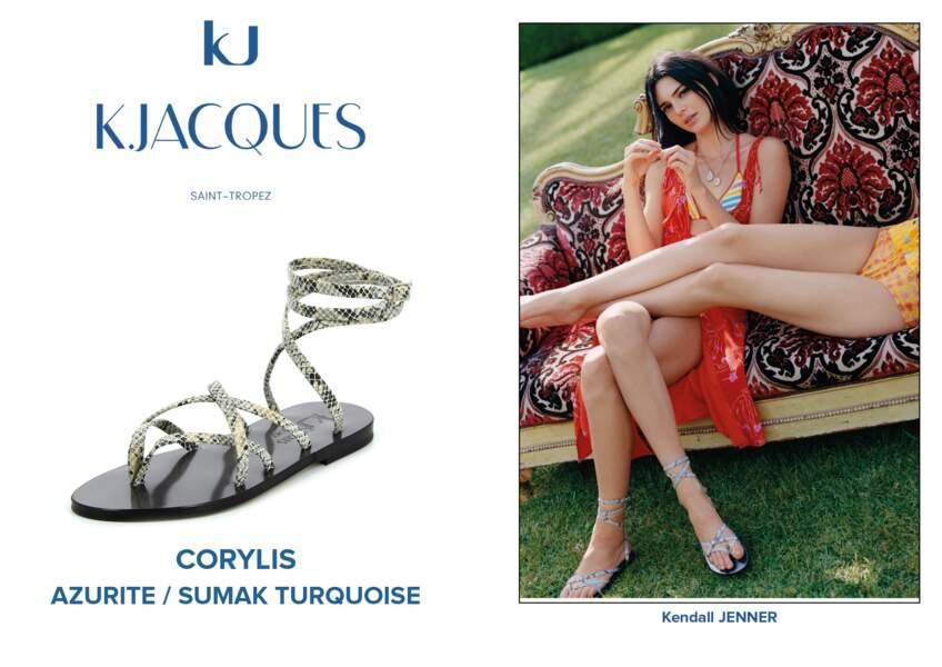 Kendall Jenner porte le modèle Corylis de K.Jacques.