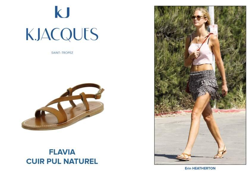 Erin Heatherton porte le modèle Flavia de K.Jacques.