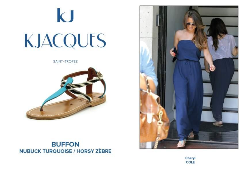 Cheryl Cole porte le modèle Buffon de K.Jacques.