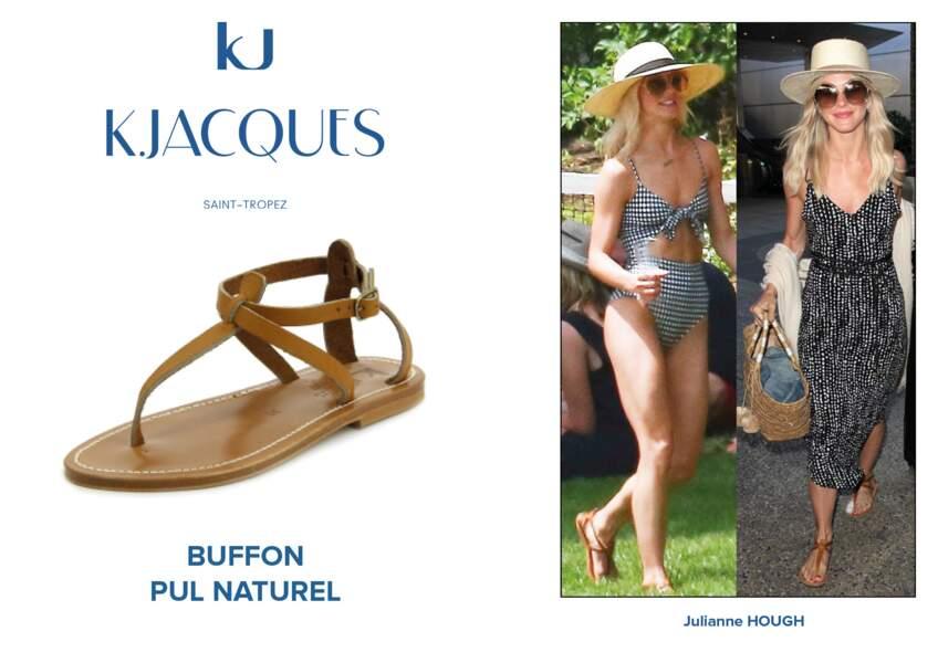 Julianne Hough porte le modèle Buffon de K.Jacques.