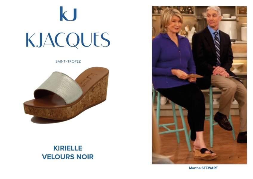 Martha Stewart porte le modèle Kirielle de K.Jacques.