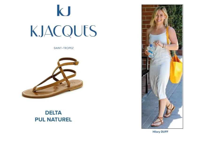 Hilary Duff porte le modèle Delta de K.Jacques.