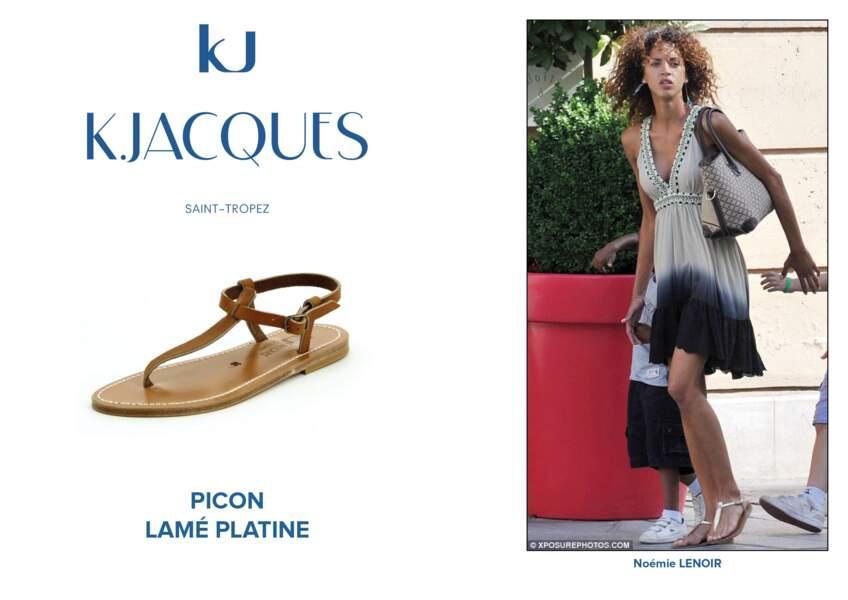Noémie Lenoir porte le modèle Picon de K.Jacques.