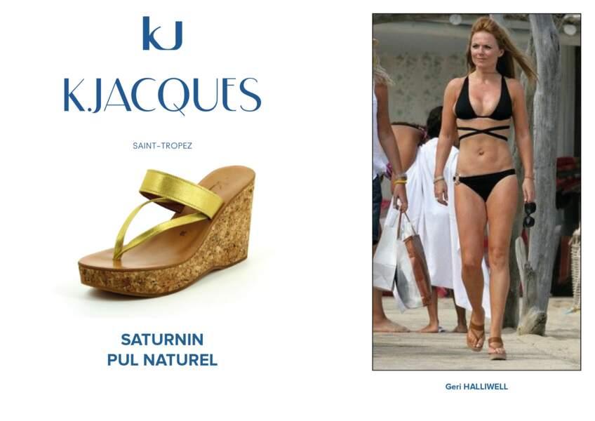Geri Halliwell porte le modèle Saturnin de K.Jacques.