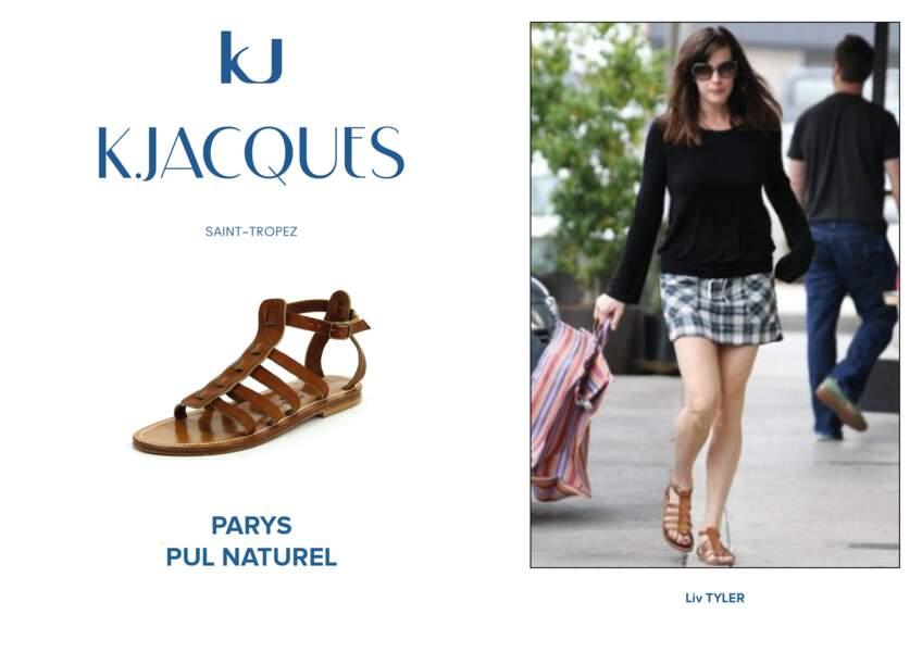 Liv Tyler porte le modèle Parys de K.Jacques.