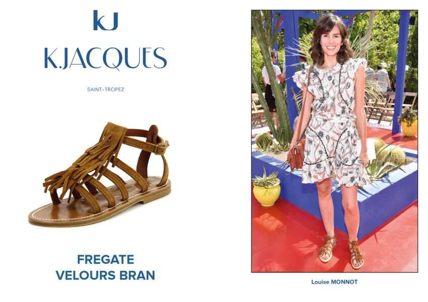 Louise Monot porte le modèle Fregate de K.Jacques.
