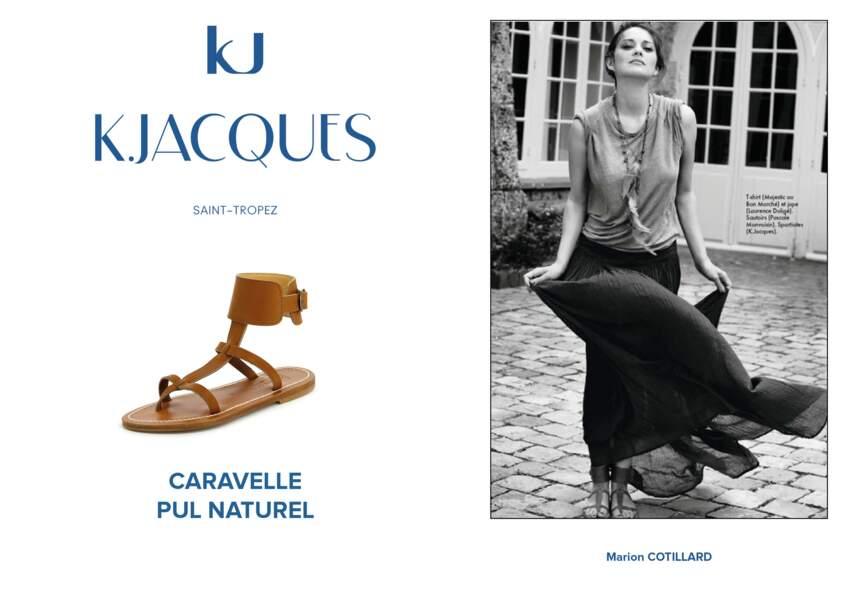 Marion Cotillard porte le modèle Caravelle de K.Jacques.