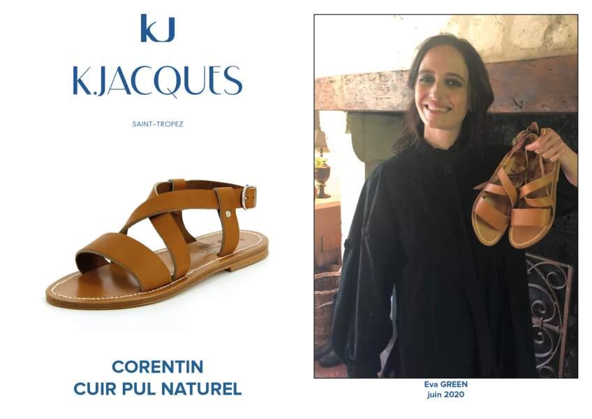 Eva Green porte le modèle Corentin de K.Jacques.