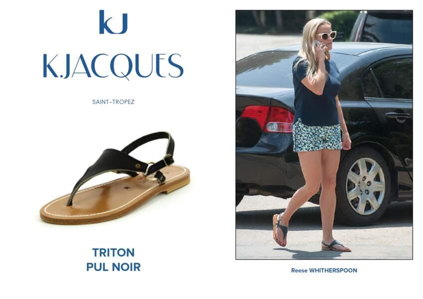 Reese Whitherspoon porte le modèle Triton de K.Jacques.