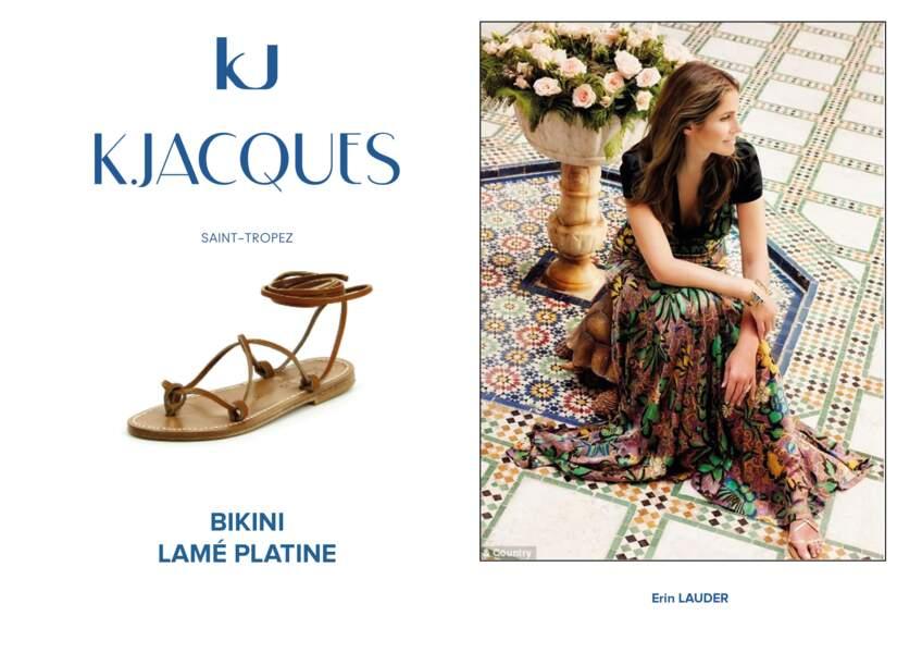 Erin Lauder porte le modèle Bikini de K.Jacques.