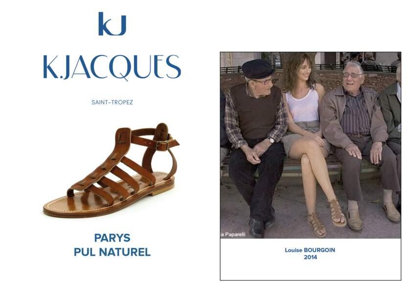 Louise Bourgoin porte le modèle Parys de K.Jacques.