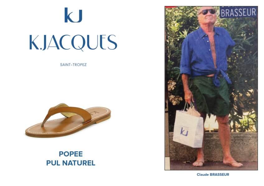Claude Brasseur porte le modèle Popée de K.Jacques.