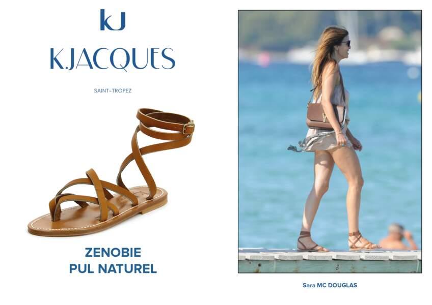 Sara Mc Douglas porte le modèle Zenobie de K.Jacques.