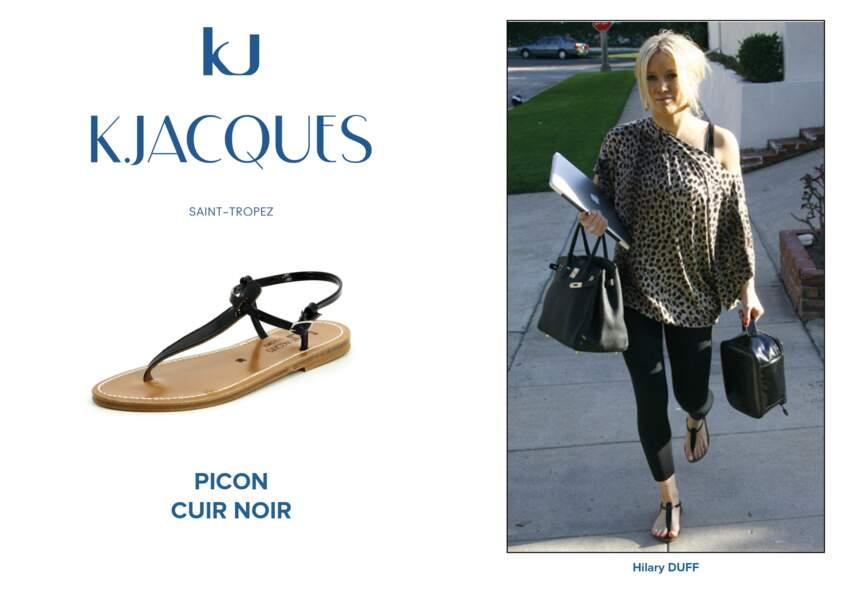 Hilary Duff porte le modèle Picon de K.Jacques.