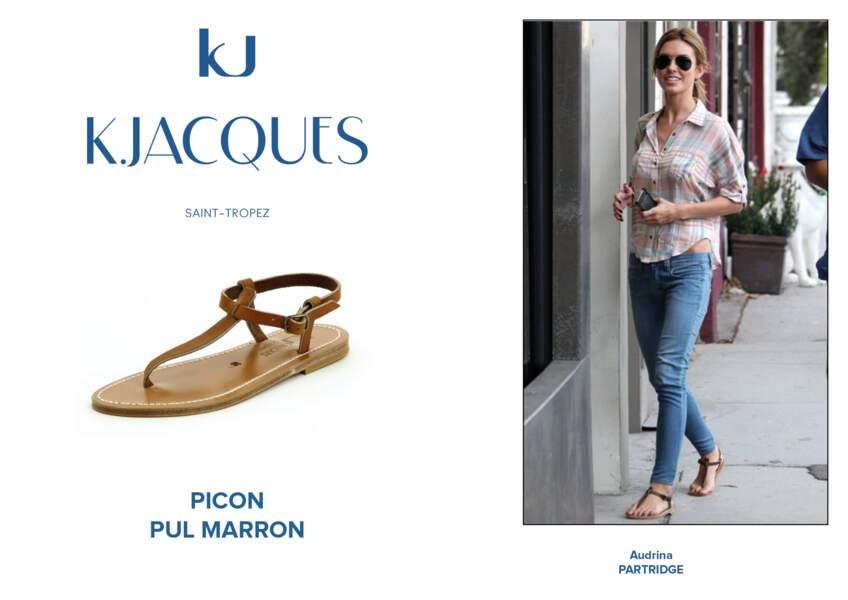 Audrina Partridge porte le modèle Picon de K.Jacques.