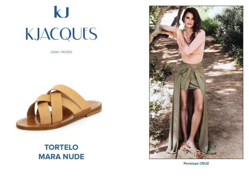 Penelope Cruz porte le modèle Tortelo de K.Jacques.