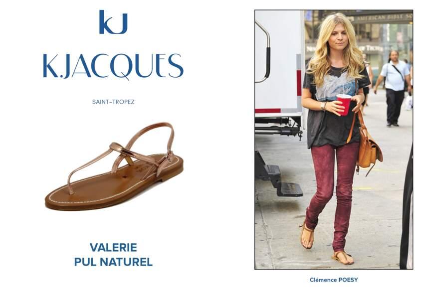 Clémence Poesy porte le modèle Valerie de K.Jacques.